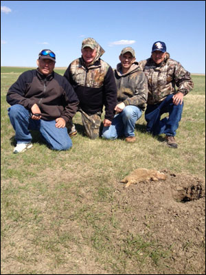 South Dakota Prairie Dog Hunting